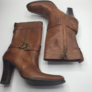 Harley Davidson High Heel Leather Boots